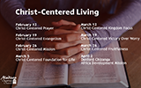 Christ-Centered Living Sermon Series
