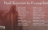Paul: Terrorist to Evangelist Sermon Series