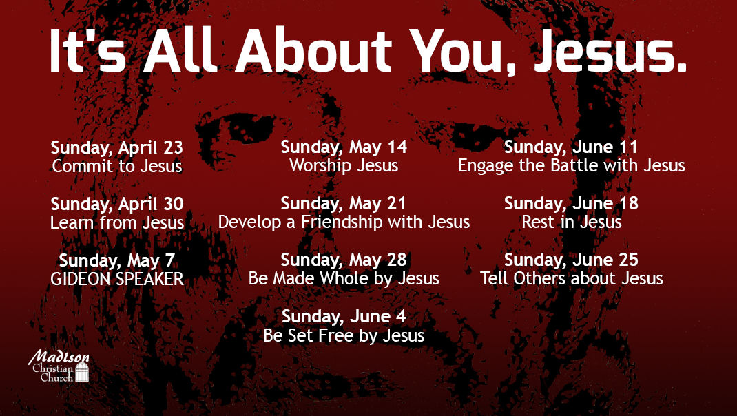 It's All About You Jesus Sermon Series